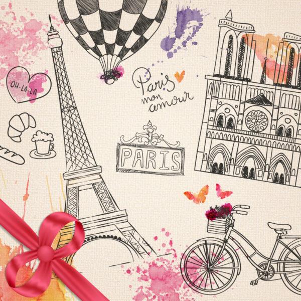 paříž, motiv